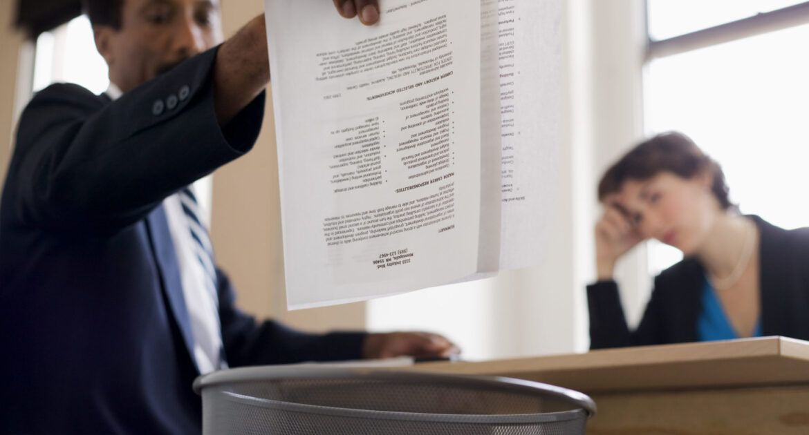 4 Reasons Your CV Could Be Ignored