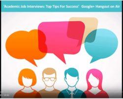 Academic Job Interviews: