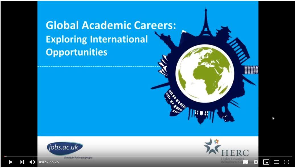 Global Academic Careers