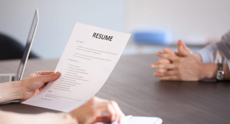 Skills CV Example