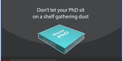 Turn Your PhD into a Book.