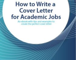 cover letter for academic jobs