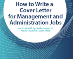 How to Write a Cover Letter for Management and Administration Jobs